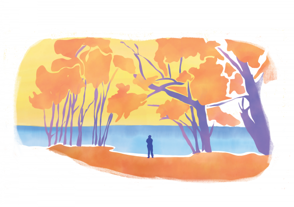 Illustration de voyage Australie